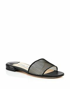 Jimmy Choo Women's Joni Mesh Slide Sandals