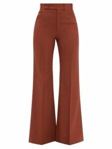 Balenciaga - Crew-neck Rib-knitted Sweater - Womens - Pink