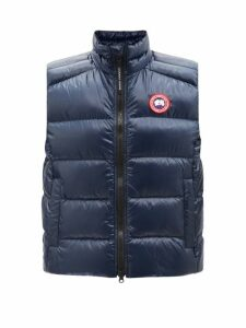 Saint Laurent - Double Breasted Felted Wool Pea Coat - Womens - Black