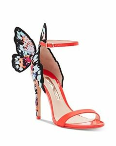 Sophia Webster Women's Chiara 100 Embroidered Butterfly High-Heel Sandals