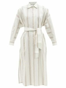 Rebecca Taylor - Kamea Shirred Floral-print Cotton Top - Womens - Black Multi