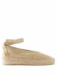 Chloé - Point-collar Silk Crepe De Chine Blouse - Womens - Navy