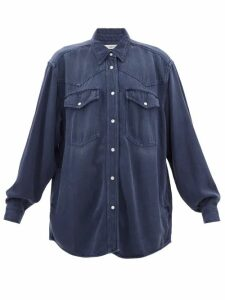 Balmain - Metallic Jacquard Knit Mini Dress - Womens - Black Silver