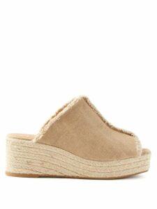 Altuzarra - Bryan Glitter Ribbed-knit Top - Womens - Navy