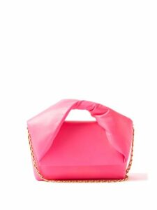 Redvalentino - Metallic-check Wool-blend A-line Skirt - Womens - Navy Multi