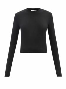 Ace & Jig - Casa Off The Shoulder Checked Cotton Maxi Dress - Womens - Black Multi