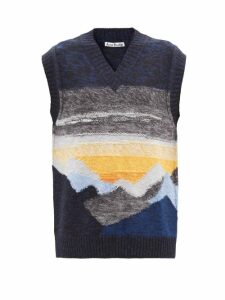 A.p.c. - Fanny Denim Mini Skirt - Womens - Light Denim