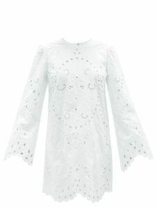 Givenchy - Pussy-bow Silk-crepe Blouse - Womens - Light Pink