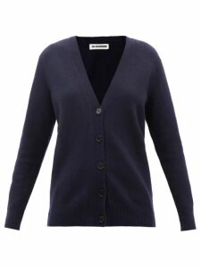Fendi - Mesh-sleeve Logo-intarsia Silk Sweater - Womens - Red Multi