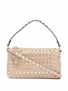 Fendi - Embroidered Mesh Panels Cashmere Blend Sweater - Womens - Beige