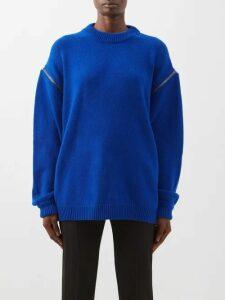 Bottega Veneta - High-rise Quilted Leather Skirt - Womens - Ivory
