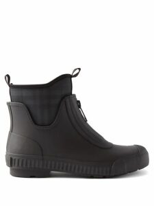 Valentino - Oversized Double-faced Wool-blend Cape - Womens - Black