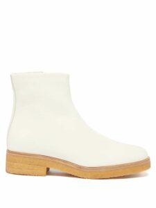 Saloni - Tamara Floral-print Silk-chiffon Dress - Womens - White Multi