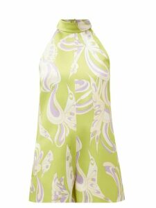 Atm - Schoolboy Cotton T-shirt - Womens - Grey