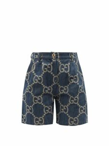 The Attico - Faux Pearl-trimmed Ostrich Feather Top - Womens - Fuchsia