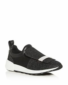 Sergio Rossi Women's SR1 Knit Slip-On Sneakers