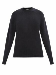 Chloé - Adelie Python Effect Leather Knee High Boots - Womens - Black Yellow