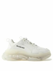 Ganni - Texas Leather Ankle Boots - Womens - Black