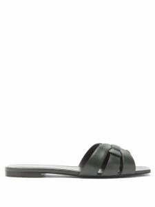 Gianvito Rossi - Martis Leopard Print Suede Ankle Boots - Womens - Leopard
