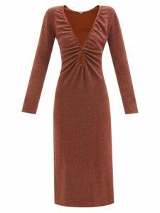 Wandler - Corsa Mini Tie-dye Leather Tote Bag - Womens - Grey White