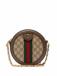 Gucci - Ophidia Gg Supreme Canvas Cross-body Bag - Womens - Grey Multi