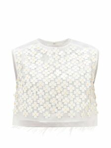 Paco Rabanne - Drawstring Chainmail Leather Clutch Bag - Womens - Black