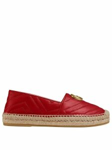 Gucci Chevron quilted espadrilles - Red