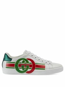 Gucci Women's Ace sneaker with Interlocking G - White