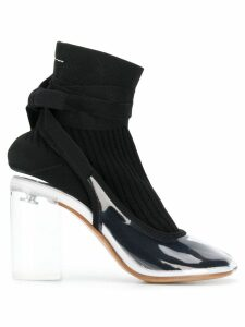 Mm6 Maison Margiela contrast ankle boots - White