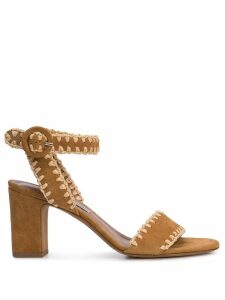 Tabitha Simmons Leticia whipstitched sandals - Brown
