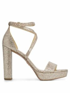 Michael Michael Kors Charlize platform sandals - Gold