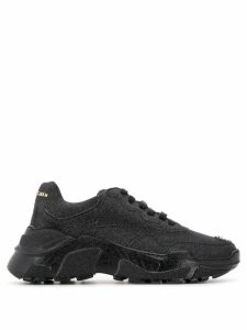 Philipp Plein Crystal runner sneakers - Black