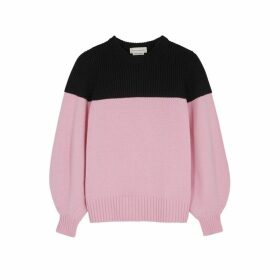 Alexander McQueen Two-tone Cashmere Jumper