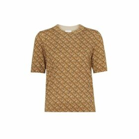 Burberry Monogram Print Merino Wool Top