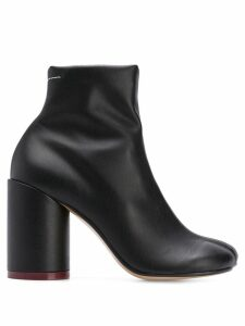 Mm6 Maison Margiela squared ankle boots - Black