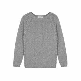 'S Max Mara Giotpi Grey Cashmere Jumper