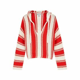 Wildfox White And Red Knitted Jumper