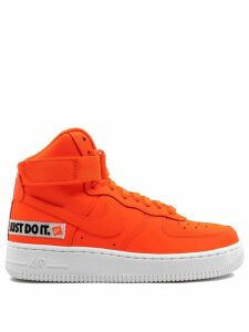Nike WMNS Air Force 1 HI LX LTHR - Total Orange/Total Orange