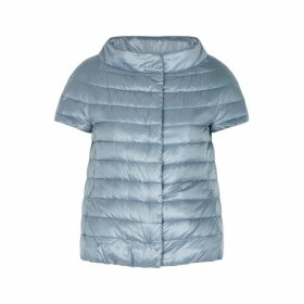 Herno Icon Light Blue Quilted Shell Jacket