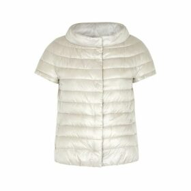 Herno Icon Light Grey Quilted Shell Jacket