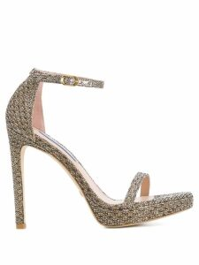 Stuart Weitzman stiletto sandals - GOLD