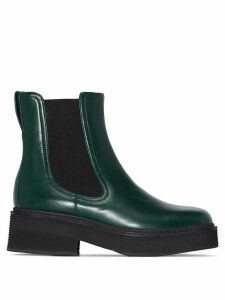 Marni chunky Chelsea boots - Green