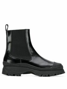 Nicole Saldaña Chelsea boots - Black