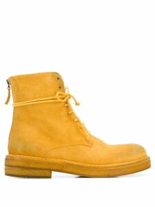 Marsèll lace-up boots - Yellow