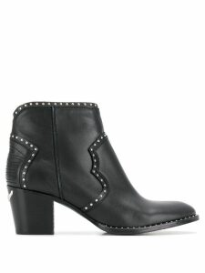 Zadig & Voltaire Molly studded boots - Black