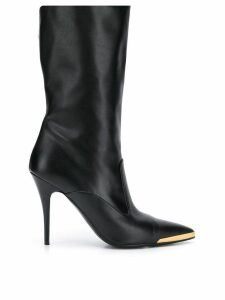 Stella McCartney pointed toe boots - Black