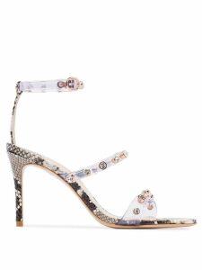 Sophia Webster Rosalind 85mm crystal-embellished sandals - Grey