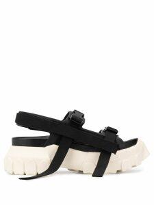 Rick Owens buckled sandals - Black