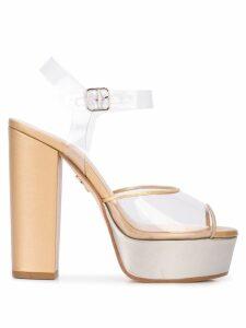 Ritch Erani NYFC Cartier platform sandals - Brown