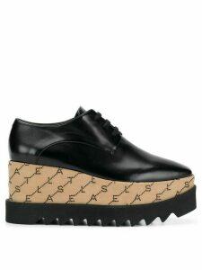 Stella McCartney monogram Elyse shoes - Black